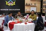 Gubernur Lampung hadiri perayaan Natal di Makorem 043/Garuda Hitam