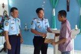 Seorang narapidana Rutan Bantul memperoleh remisi khusus Natal