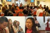 Jemaat GPdI Palu berurai air mata rayakan Natal
