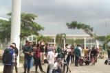 Gerhana matahari cincin di Lampung hanya dinikmati 75 persen