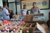 Polda DIY sita ratusan botol minuman keras jelang Tahun Baru 2020