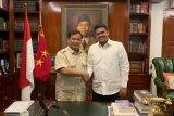 Prabowo Subianto ketemu Bobby, namun tak bahas rekomendasi Pilkada Medan