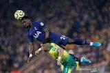 Liga Inggris -- Tottenham versi Mourinho susah payah imbangi tim juru kunci Norwich