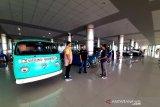 Bandara Tjilik Riwut jadi wisata dadakan dan arena bermain di penghujung tahun 2019