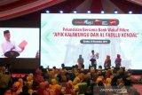 Jokowi: Ada Bank Wakaf Mikro, UMKM bisa terhindari dari rentenir
