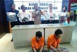 Dua tersangka begal taksi online di Palembang terancam hukuman mati