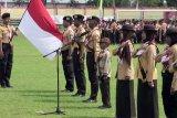 1.969 anggota Pramuka Banyumas dilantik jadi Pramuka Garuda