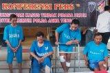 Perampok 10 kg emas di Toko Wisma Cahaya Grobogan ditangkap