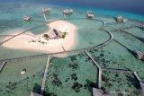 Peserta Jelajah Wisata Sulawesi kagumi Pulo Cinta di Boalemo, Gorontalo