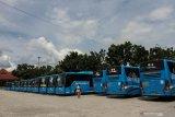 Tekan kasus COVID-19, Pekanbaru kurangi waktu operasional bus TMP