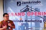 Jamkrindo Palembang  perbanyak titik pemasaran perluas jamin kredit
