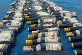 Polres Mesuji musnahkan ratusan botol minuman keras