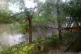 Air genangi jalan menuju ke Ancol