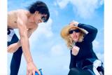 Madonna pamerkan fotonya bersama pacar baru
