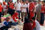 Jusuf Kalla meninjau dapur umum PMI Jaktim