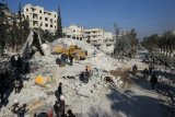 Merkel, Macron desak Presiden Putin hentikan konflik di Idlib-Suriah