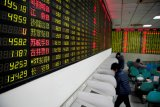 Saham China dibuka lebih rendah