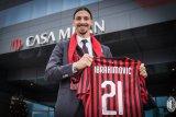 Ibrahimovic cetak gol di pertandingan pertamanya untuk AC Milan