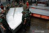 Perahu rakit Kodam XIV/Hasanuddin