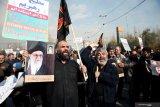 Seusai pemakaman Jenderal Soleimani, Iran gempur penampungan tentara AS di Irak