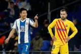 Barcelona diimbangi  Espanyol  2-2