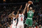 Tatum cetak 41 poin saat  Celtics tundukkan Pelicans