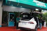 Stasiun pengisian kendaraan listrik umum pertama di Jateng resmi beroperasi