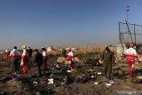 Menlu Ukraina sebut terdapat 82 WN Iran, 63 WN Kanada di pesawat jatuh