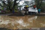Wisatawan keluhkan jalur wisata Pantai Glagah-Congot Kulon Progo rusak parah