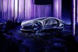 Mobil otonom Mercedes-Benz terinspirasi dari