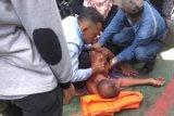 Aksi seorang ASN Bengkalis terjun ke laut viral di medsos
