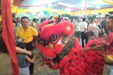 Ethnic Chinese in Padang holds the sincia night market welcomes Chinese New Year