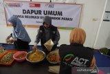 ACT-MRI membangun dapur umum untuk pengungsi di Mataram