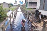 Masyarakat Kotawaringin Timur di kawasan rawan banjir mulai siaga
