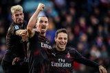 Gol Ibrahimovic warnai kesuksesan Milan mengakhiri puasa kemenangan