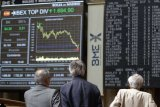 Saham Spanyol merosot, setelah menteri zona euro gagal capai kesepakatan