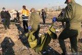 Presiden Iran sebut penembakan jet Ukraina