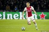 MU sepakati nilai transfer untuk memboyong De Beek