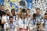 Real Madrid juara Piala Super Spanyol dengan drama adu penalti