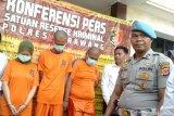 Polisi tangkap komplotan penjahat pembakar pemuda