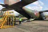 Hercules TNI AU mendarat darurat di Aceh Utara