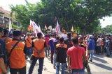 Buruh Riau suarakan penolakan RUU cipta lapangan kerja