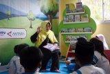 Pojok baca Antara resmi dipergunakan di SDS Pantai Indah