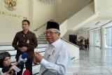 Wapres Ma'ruf Amin nilai UU KPK tidak lemahkan penindakan korupsi