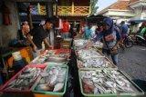 Hasil tangkapan nelayan berkurang, harga ikan laut di Agam naik