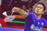 Ginting melangkah ke babak dua Indonesia Masters 2020 usai kalahkan Kashyap