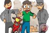 Rampas kunci motor penunggak angsuran, debt collector dilaporkan ke polisi