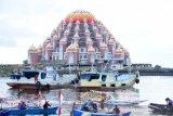 Lomba perahu hias-foto meriahkan peluncuran Garuda di Lautku