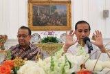 Presiden Joko Widodo nilai UU baru KPK tidak melemahkan