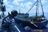 Kapal China sitaan negara tenggelam di perairan Kupang